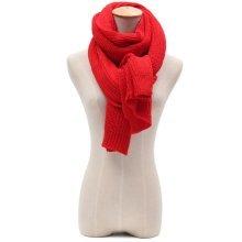 Unisex Solid Knitting Scarf Shawls