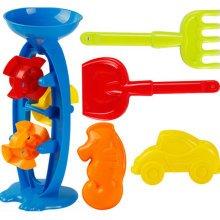 Kid's Beach Sand Toys Baths Pools Set 5PCS