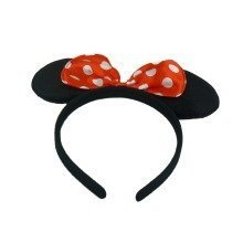 Trixes Girls Minnie Mouse headband