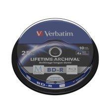 Verbatim 43825 25GB 4x M-Disc BD-R - 10 Pack Spindle