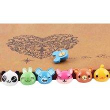12 PCS Animal Pushpins Lovely Thumbtack Office/Teaching/Painting Tool