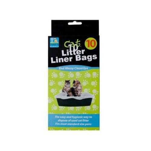 Bulk Buys DI018-72 Litter Box Liner Bags
