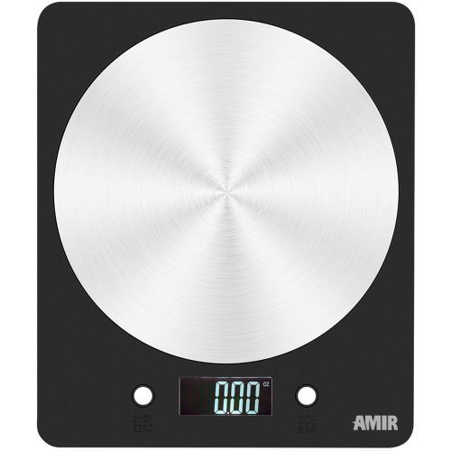 Amir Digital Kitchen Scale, 5000g Electronic Cooking Food Scale