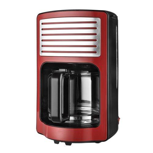 Kalorik Retro Filter Coffee Maker 1000 W 18 Liters Red On Onbuy