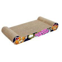 Graffiti Style Series Corrugated Paper Cat Scratching Pad/Board,Cat Bed,BLACK