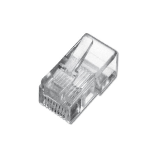 Digitus A-MO4/4SF RJ10 4P4C Transparent wire connector