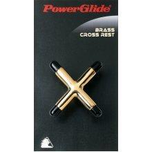 Powerglide Brass Cross Cue Rest - Snooker Pool Accessories Sturdy Pro -  rest powerglide brass cross snooker pool accessories sturdy pro cue
