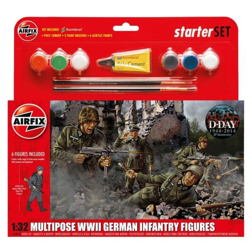 Air55210 - Airfix Multipurpose Set 1:32 - Wwii German Infantry