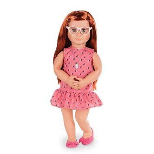 Our Generation Sabina-Deluxe Doll with Book 18 Inch, 18