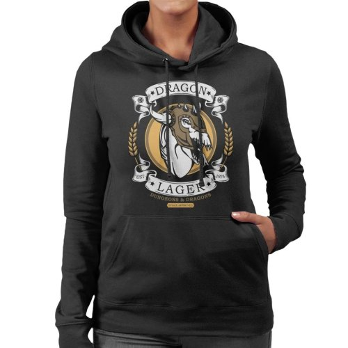 Dungeons And Dragons Dragon Lager Women's Hooded Sweatshirt