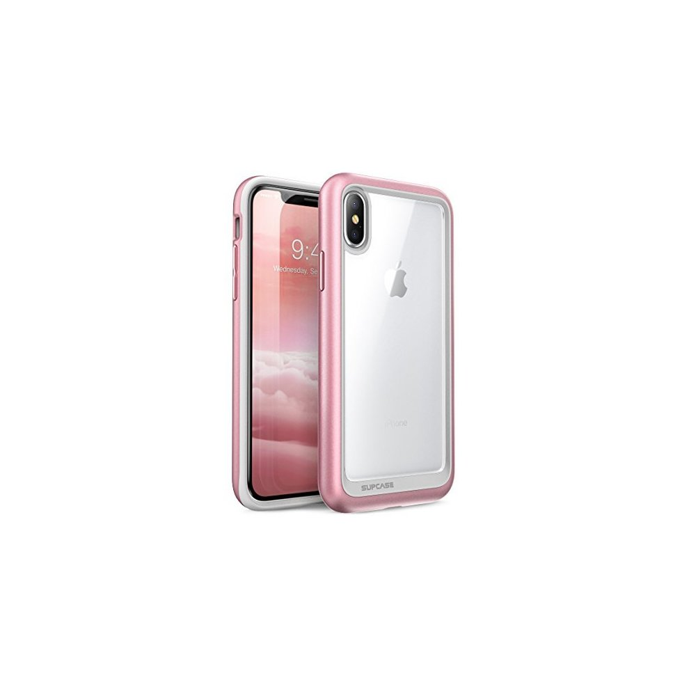 info for bf7ef 924b1 SUPCASE iPhone X Case, Unicorn Beetle Style Premium Hybrid Protective Clear  Case for Apple iPhone X 2017 Release- Rose Gold