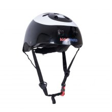 Kiddimoto Children's Bike / Scooter / Skateboarding Helmet - 8 Ball Design