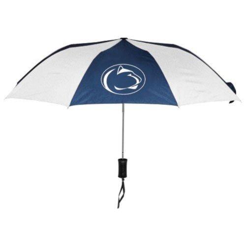 NCAA Penn State University Auto Folding Umbrella, Black