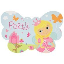 Woodland Princess Postcard Invitations - /8