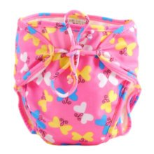 Reusable Swim Diaper Adjustable Absorbent Shower Diapers for Baby Toddler, A18