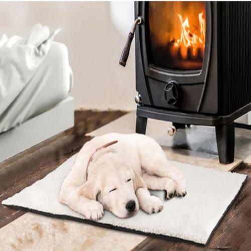 Self-Heating Dog Mat | Thermal Pet Bed