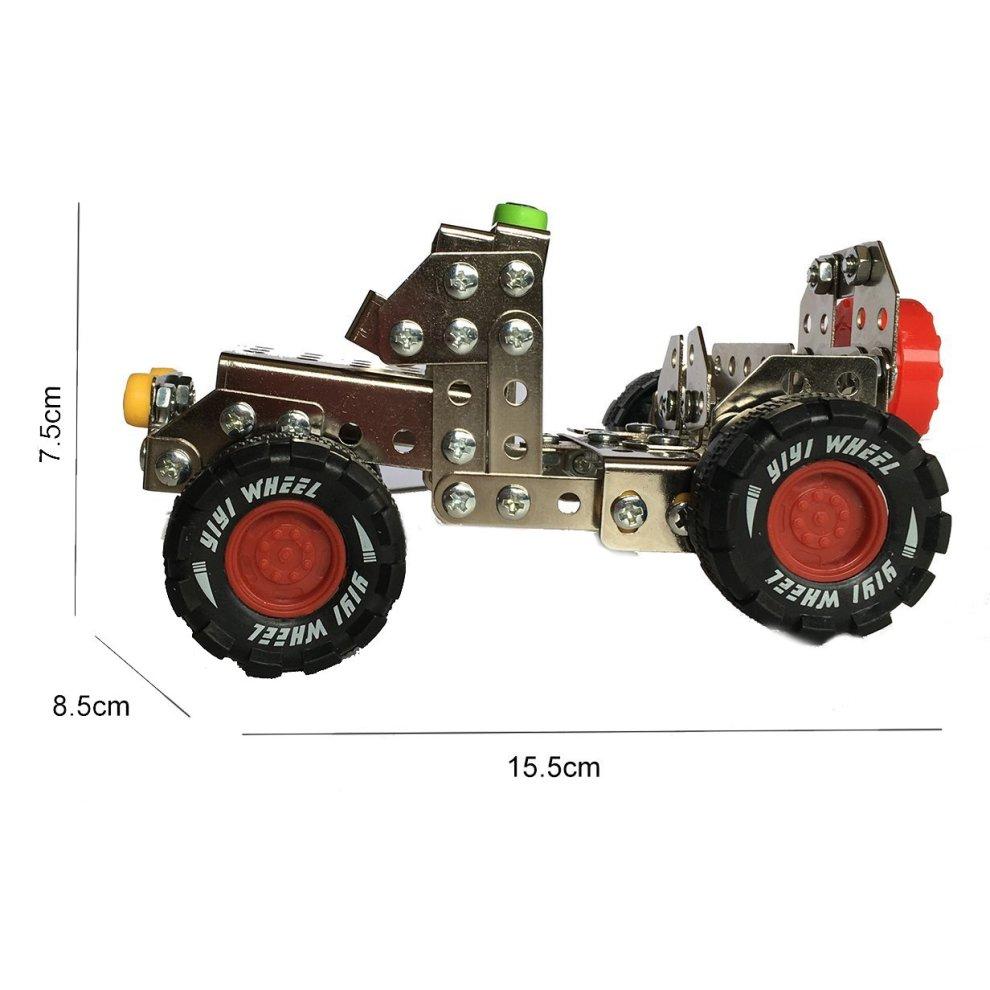 Metal Build N Play Assemble Disassemble Vehicle Creative