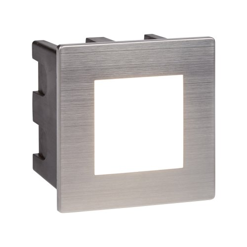 LED Indoor & Outdoor Recessed Square In Chrome