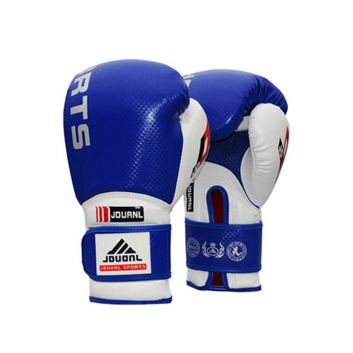 Professional Men Women Boxing Martial Arts Training Gloves BLUE, 10 Ounce