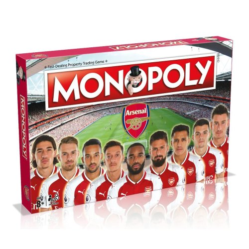 Arsenal Football Club Edition Monopoly Board