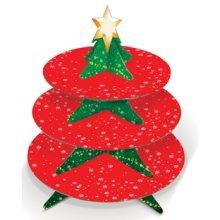 Christmas Tree Mince Pie Cake Stand