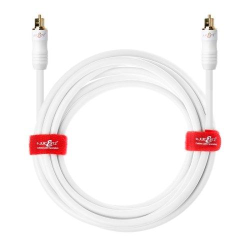 4m Premium Digital Optical Audio Cable (TOSlink SPDIF) - White