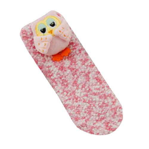 Kids Funny Socks Keep Warm Floor Socks Winter Thicken Boot Socks-A3