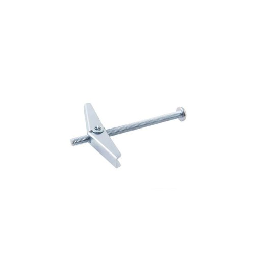 Spring Toggle - M3 x 50 10pk - Silverline Toggles Plaster Board Fixing 50mm -  silverline spring toggles 10pk plaster board fixing m3 50mm hollow