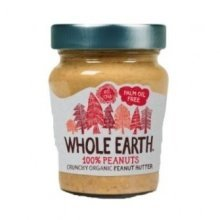 Whole Earth - 100% Nuts Crunchy Peanut Butte 227 g