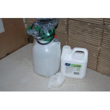 1 x 2L GALLUP Non - PrOFESSIONAL USE GLYPHOSATE WEEDKILLER Home and Garden + 3L Sprayer + Gloves/Pot