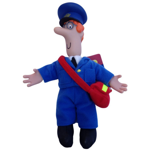 Postman Pat SDS 8 Inch Collectable Plush - POSTMAN PAT Character Figure - Official Merchandise