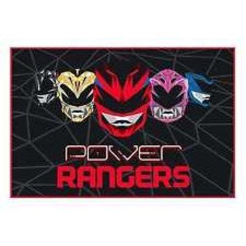 Power Rangers Fleece Blanket - Geo Shard Movie New Throw Gift Official -  power rangers fleece blanket geo shard movie new throw gift official