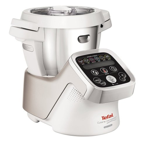 Tefal FE800 Cuisine Companion Multifunction Food Processor Mix Slow Cooker White