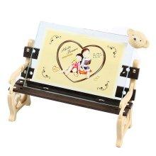"""Creative Bear/Chair Table-top Frames Decor Resin Photo/Frames 6.8*4.9"""" Khaki"""