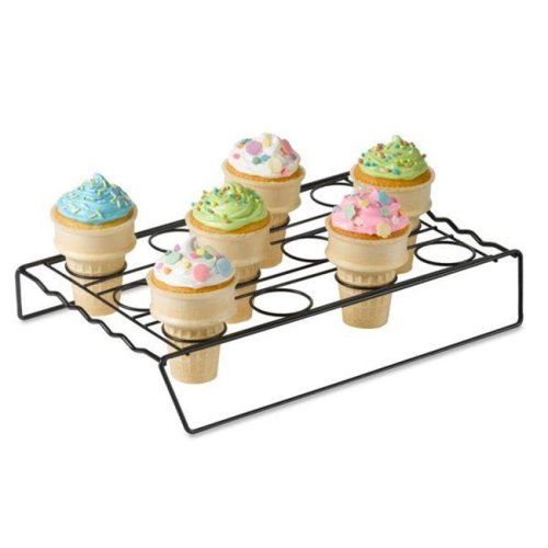 Nifty Home N4370 Cupcake Cone Baking Rack