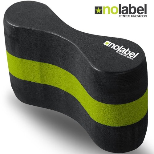 NO LABEL Pullbuoy - Pull Buoy - Swim Float - Swimming Training Aid - Offers 17 Newtons Of Floatation by