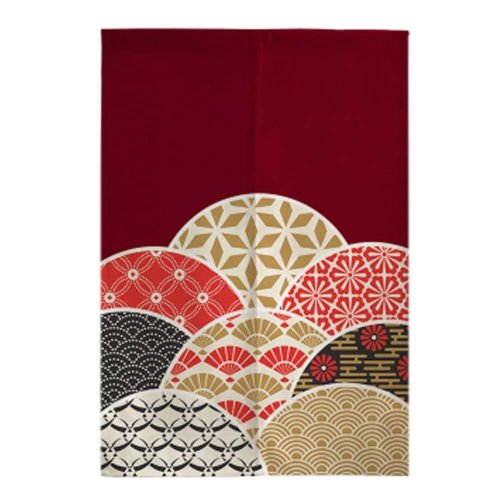 Classical Japanese Style Curtain Restaurant Kitchen Curtain Hang Cloth Doorway Curtains, #03