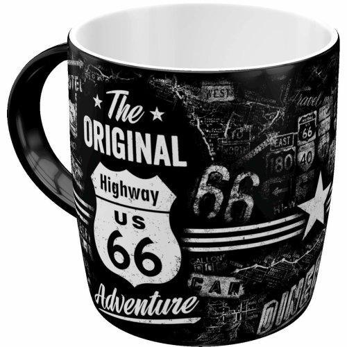 Nostalgic style 43012, US highways, highway 66, the adventure, mug