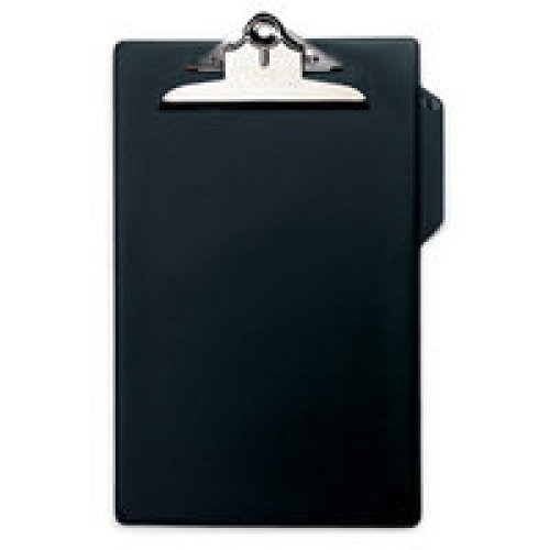 Rapesco CD1000B2 A4 PVC Black clipboard