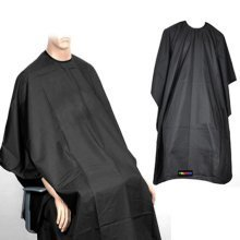 Trixes Black Hairdressing Cape | Salon Gown