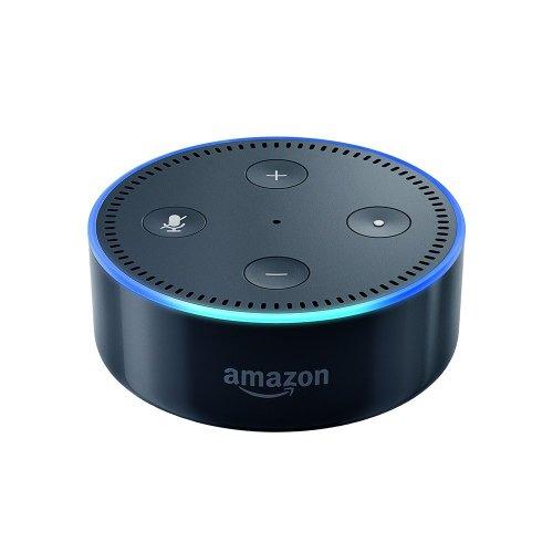 Certified Refurbished Amazon Echo Dot (2nd Generation), Black