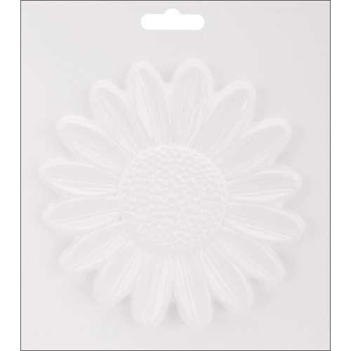 "Plaster Casting Mold 6.5""X7.25""-Sunflower"