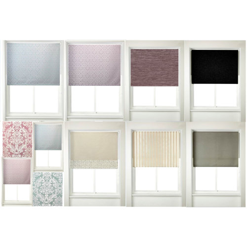 150cm/5ft Roller Blinds Window Treatment Curtains Damask,Chenille,Faux Silk Blind/Curtain Clearance Stock