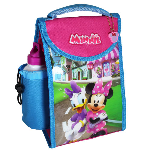 Disney / TV Character 'Back to School' Insulated Lunch Bag & Bottle - Minnie Mouse