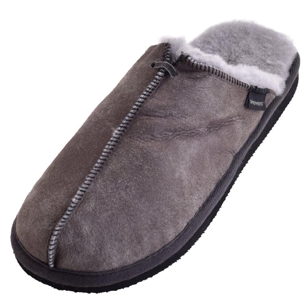 9e35e8e1d2e39 ... Shepherd of Sweden Ladies Hard Sole Sheepskin Slip On Mule Slippers - 1  ...