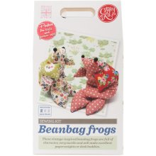 The Crafty Kit Co. Sewing Kit-Beanbag Frog