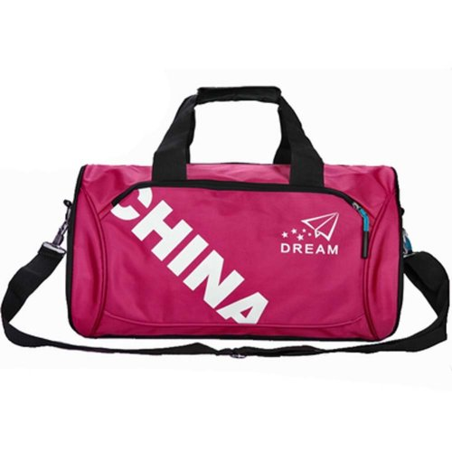 Classical Sports Bag Gym Duffel Bag Travel Luggage Bag for Sports, Gym, Vacation, B