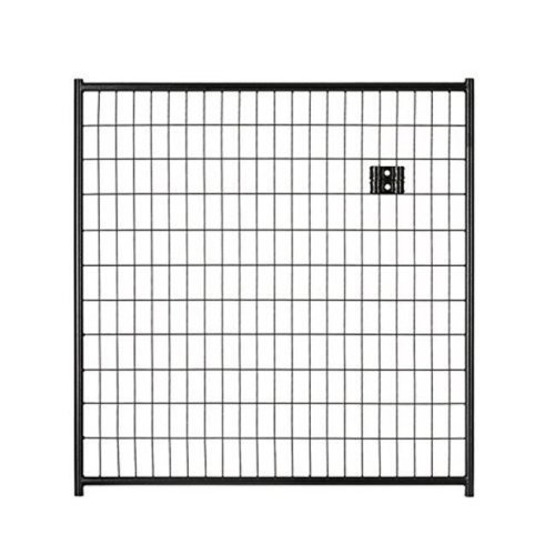 Lucky Dog CL 28440 4 x 4 ft. Black Welded Wire Panel Gate