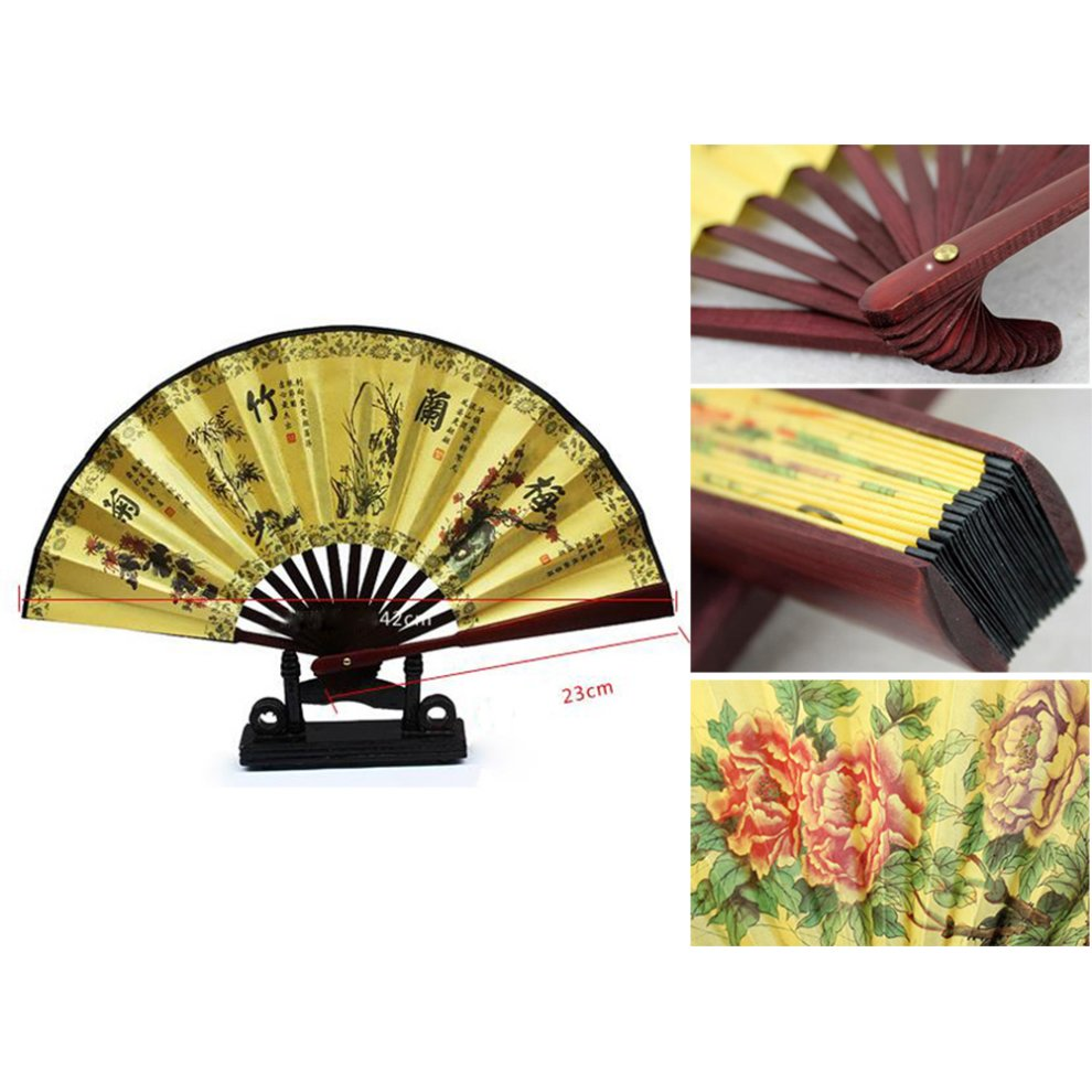 Fancy Hand Fan Wall Decor Motif - Wall Art Collections ...