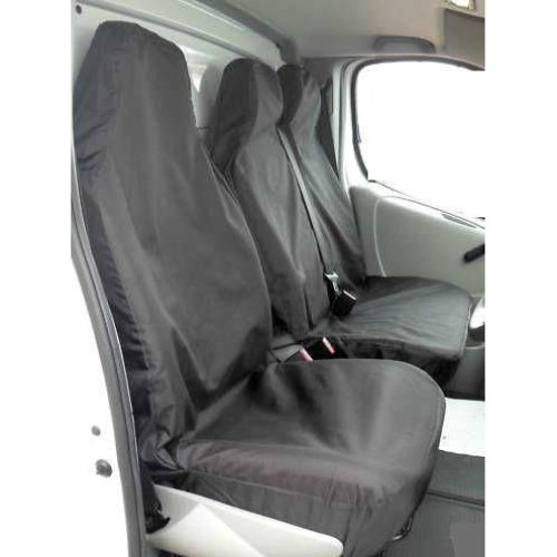 XtremeAuto Universal Black Extra Heavy Duty Van Seat Covers Set